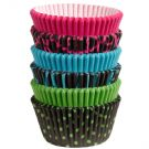 Neon Darks Collection of Baking Cups, 150 Count